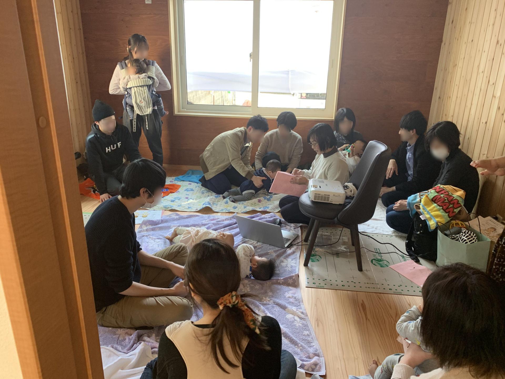 福山市自然素材の家見学会